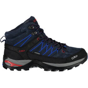 CMP Campagnolo Rigel Mid WP Scarpe Uomo, black blue-royal
